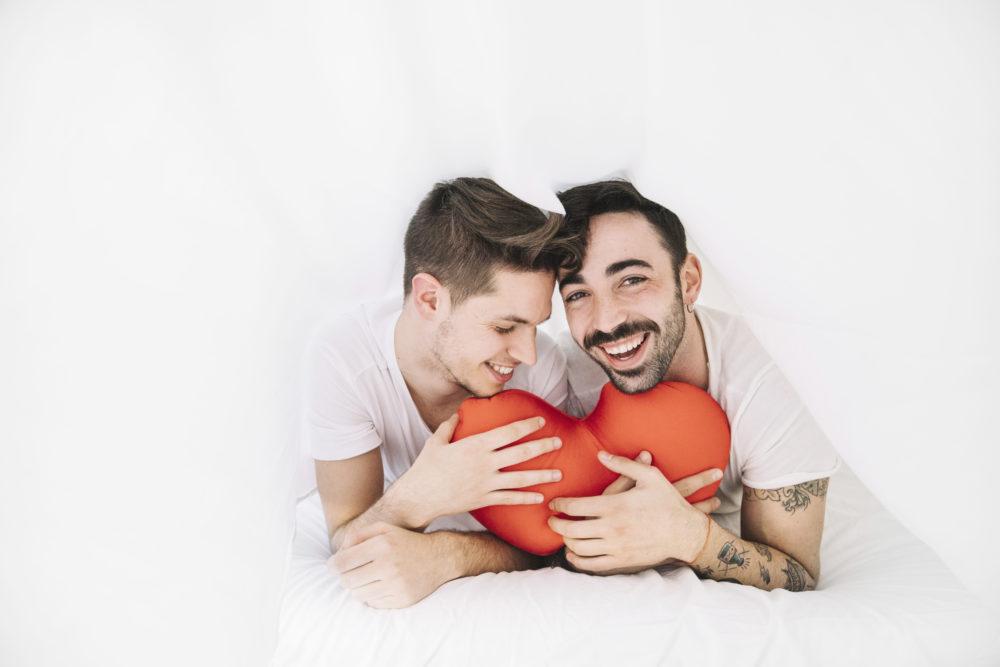 Saint Valentin entre gay